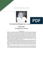 M. Prigogine and T. Patterson, Dialectic. The Scientist and Prigogine's futur créateur