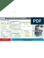Formulas do Mecanizado con Fresadora