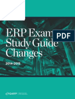 Erp Study Guide Changes 2015 - Final