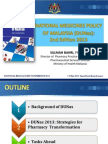Malaysia National Medicines Policy Presentation (2013)