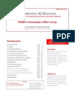 Italia Economia a Fine 2014