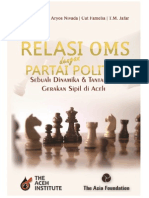 Chairul Fhami Buku Relasi Politik OMS Dengan Parpol