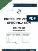Pressure Vessel Specification.pdf