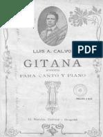 Gitana - Luis A. Calvo