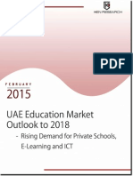 Analysis and Projection UAE Education Industry 2014 - 2018