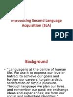 Introducing SLA 2014