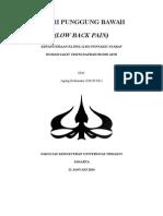 Low Back Pain Paper