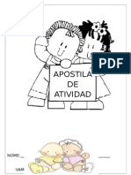 APOSTILA ALFABETIZACAO