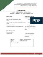 IKM Status Ujian konjuntivitis