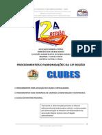 Procedimentos para desbravadores na Regiao 12 Amc