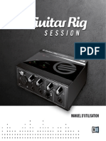 Guitar Rig Session IO Manual French