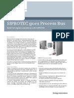 SIPROTEC Processbus V1 Profile