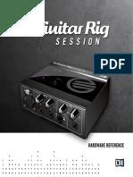 Guitar Rig Session IO Manual Japanese