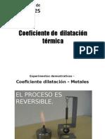 CoeficienteDilatacionTermica