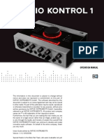 Audio Kontrol 1 Manual English