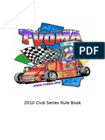 TVQMA 2010 ClubPoint Series Rules