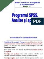 Lectia 11 SPSS 2013
