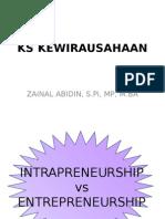 Intrap vs Entrep