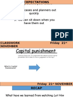 capital punishment lesson 21 11 14