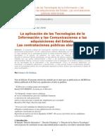 Contrataciones Publicas Electronicas