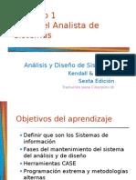 El rol del analista de Sistemas - Kendall