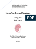 Boris Ederov.bachelor.merkle Tree Traversal Techniques
