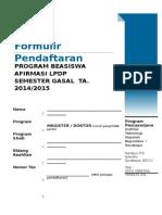 Form Pendaftaran Afirmasi LPDP