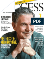 Netflix CEO Success Magazine