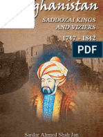 AFGHANISTAN SADDOZAI KINGS AND VIZIERS 1747 - 1842