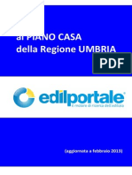 Piano Casa Umbria