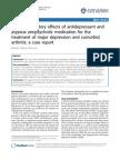 Anti Inflammatory Effects of Antidepressant