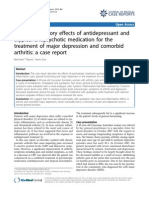 Anti Inflammatory Effects of Antidepressant