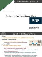 Počítačové sítě II, lekce 1
