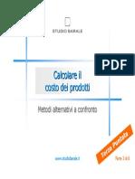Calcolare Il Costo Dei Prodotti_Parte_3