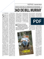 La santidad de Bill Murray (Oja x Oja 2015-02-16)