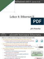 Počítačové sítě II, lekce 4