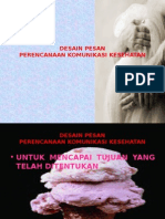 desain pesan