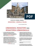 c.5. Renasterea Modelul Italian