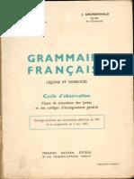 Grammaire Francaise - Algérie