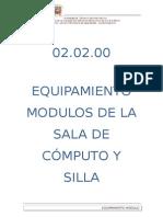 Mod. Sala Computo y Silla