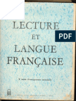 Lecture Et Langue Française 1as Hd - Algérie