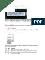 Using an HD44780 Alphanumeric LCD