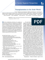 Status of Liver Transplantation in the Arab World.4