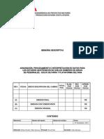Memoria Descriptiva Estudios Golfo de Paria-Pedernales-PD