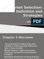 Market Selection Definition and Strategies