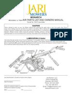 Jari Monarch Manual 2015 | Mower | Belt (Mechanical)