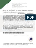 3 Studies on Behaviour of Rcc Beam Column