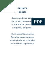 Frunza