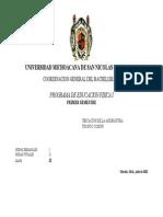 Educación Física I UMSNH