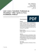 Entre Estado e Autoridades Tradicionais Em Moçambique